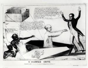 Galvanised corpse 1836