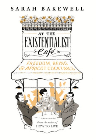 At the Existentialist Cafe UK cover